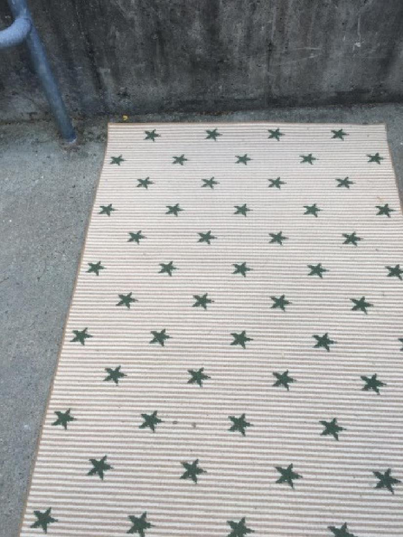 Contemporary Star Design Carpet Runner by Stark - 4