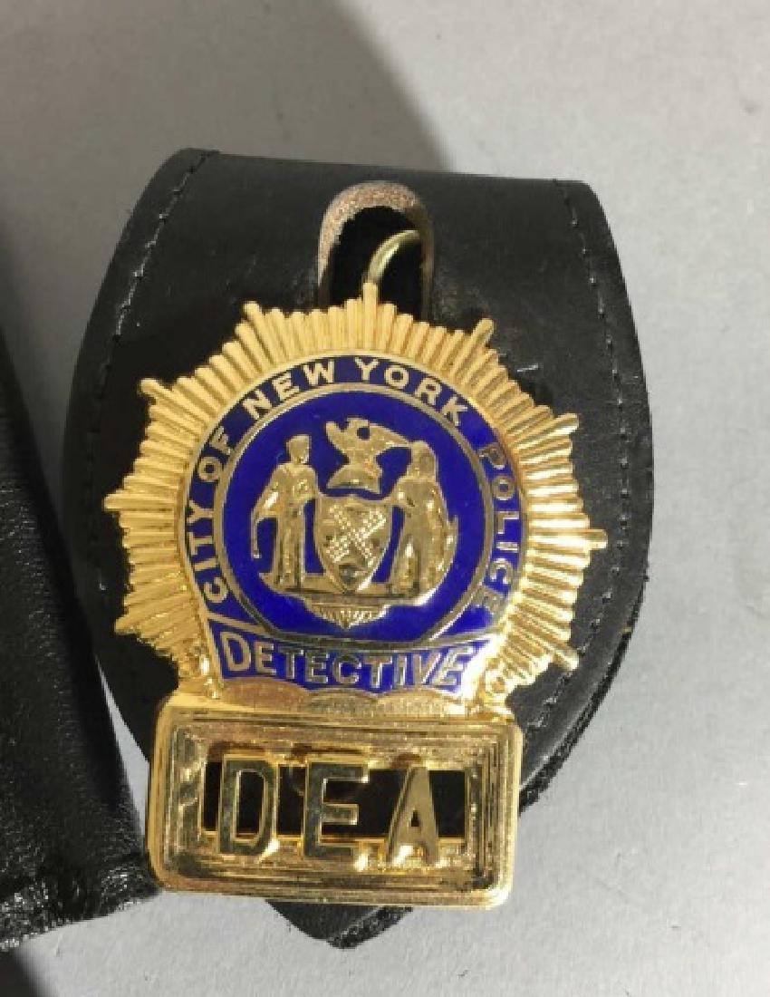 4 Obsolete New York City Law Enforcement Badges - 5