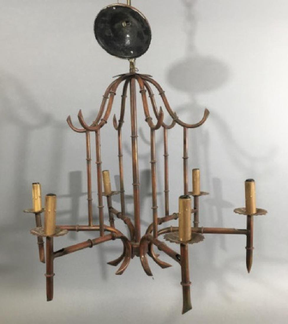 Chinese / Asian Style Pagoda Form Chandelier