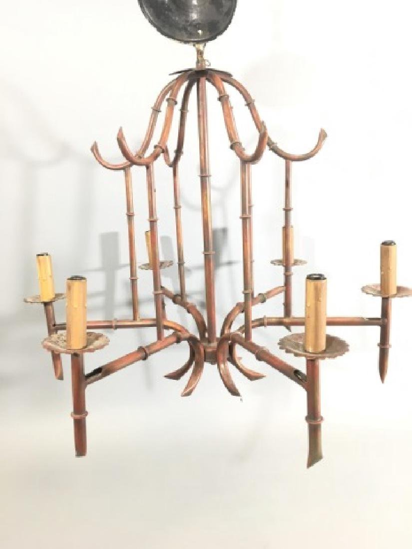 Chinese / Asian Style Pagoda Form Chandelier - 3