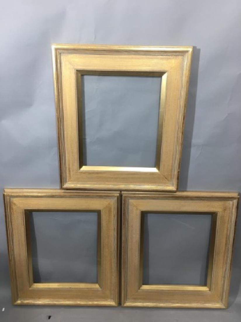 Three Contemporary Gilt Wood Picture Frames - 5