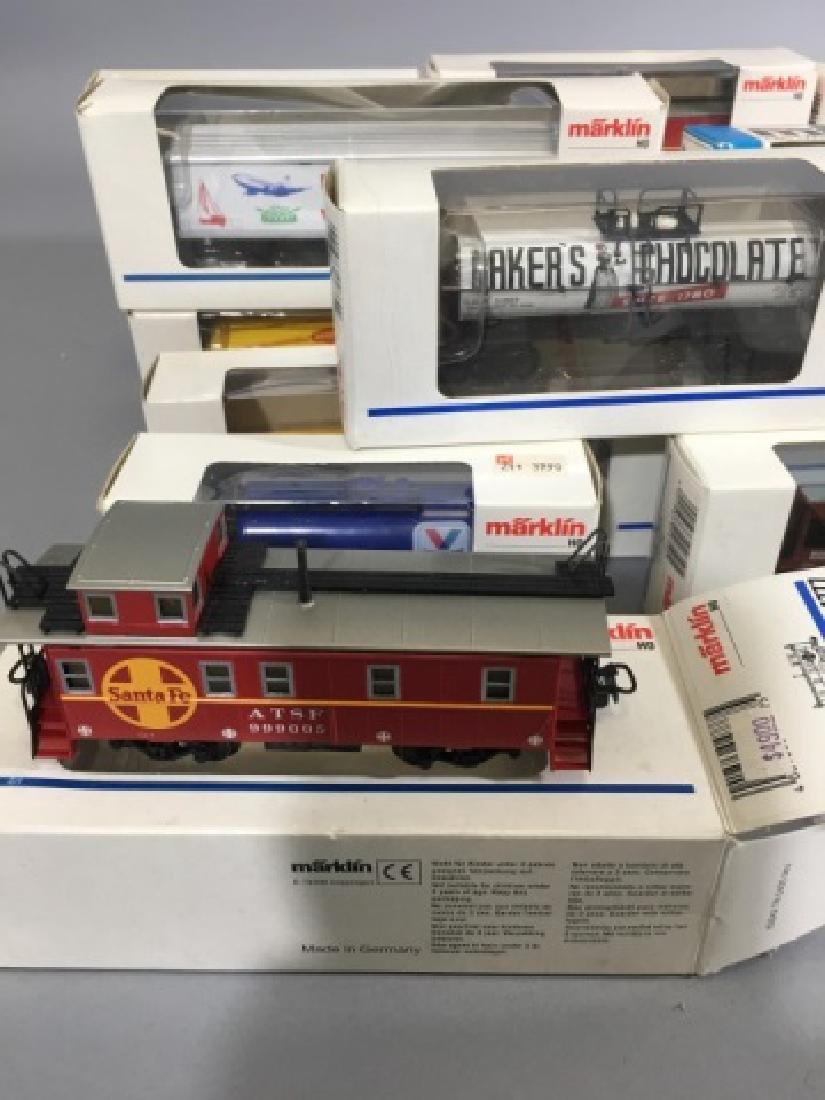 25 New-in-Box Marklin German Model Train Cars -Med - 2