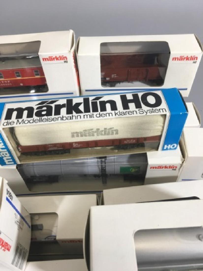 25 New-in-Box Marklin German Model Train Cars -Med - 5