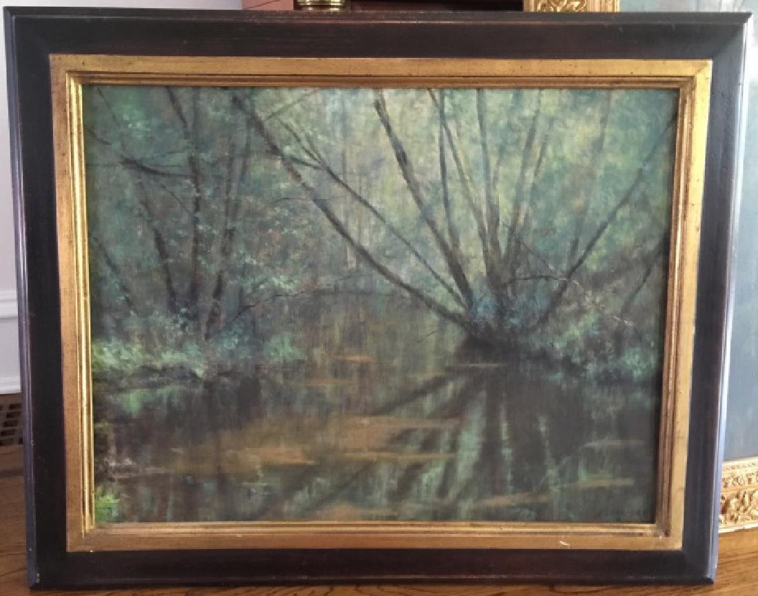 Kevin Partridge - Signed Landscape w Lake Painting