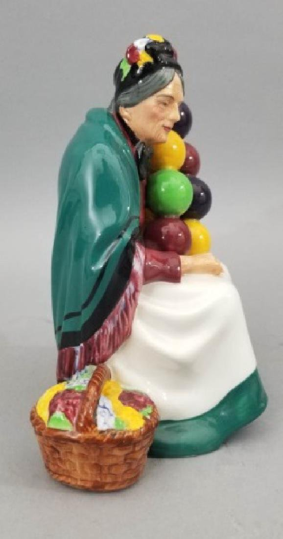 Royal Doulton The Old Balloon Seller Figurine - 2