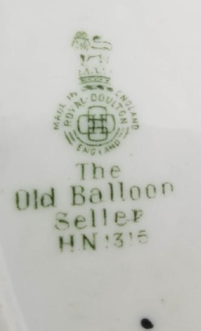 Royal Doulton The Old Balloon Seller Figurine - 3