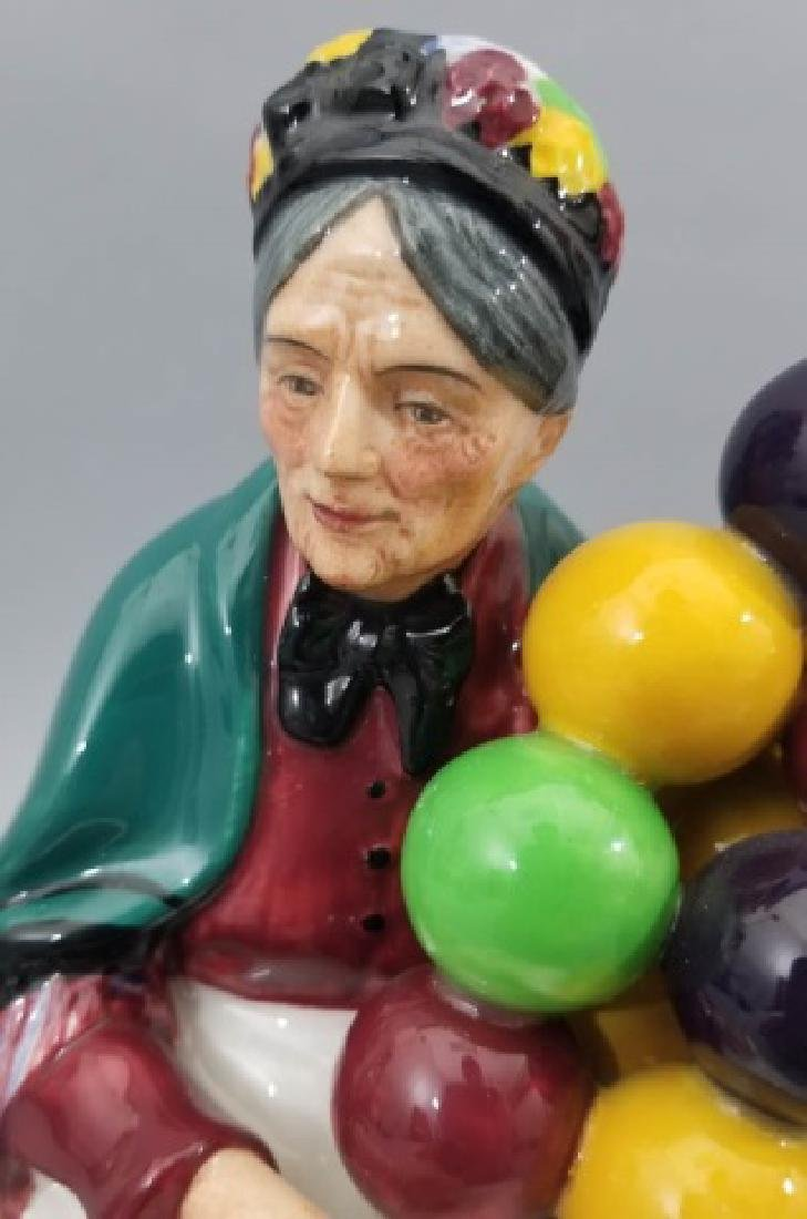Royal Doulton The Old Balloon Seller Figurine - 4
