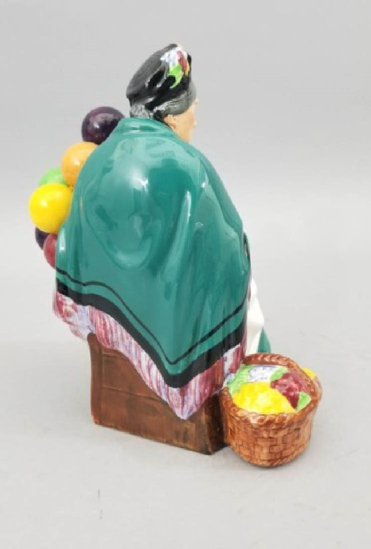 Royal Doulton The Old Balloon Seller Figurine - 8