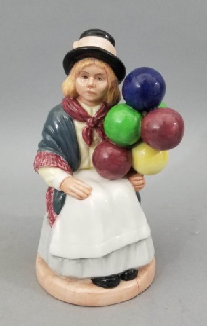 English Royal Doulton The Balloon Girl Figurine