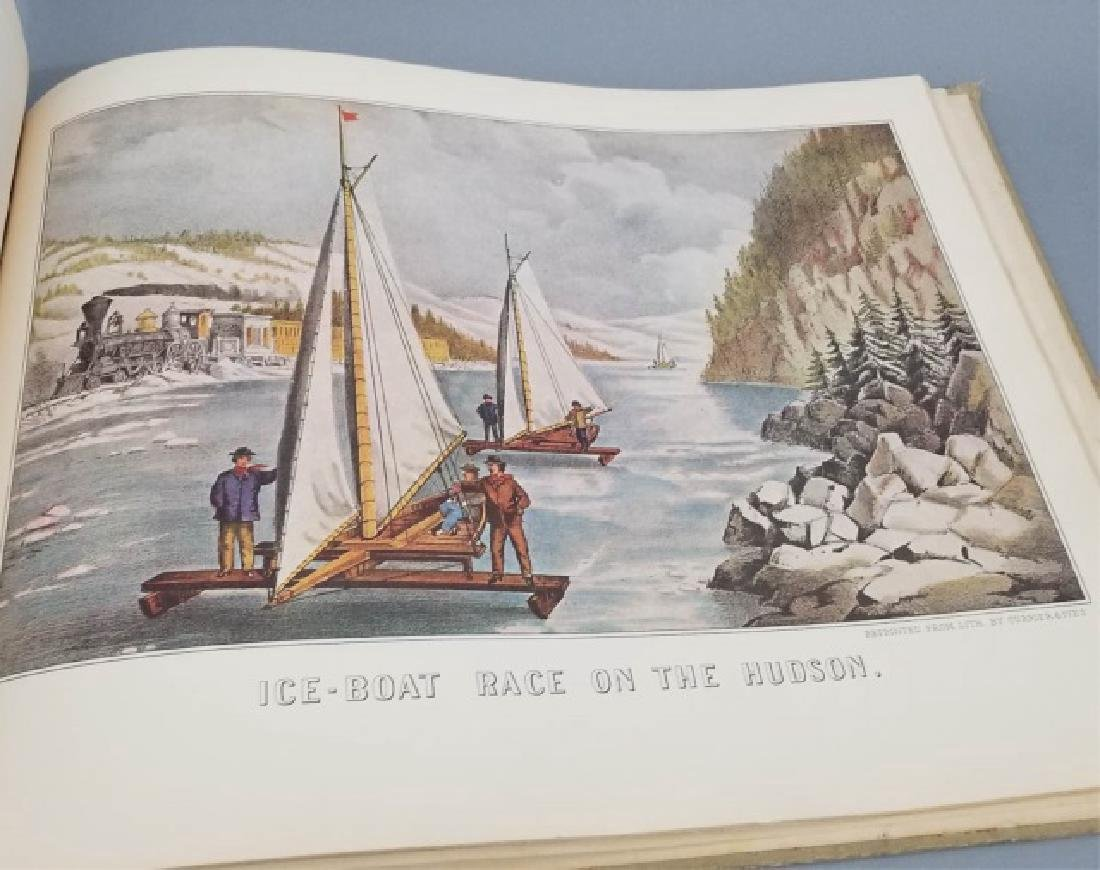 Currier & Ives American Book of Prints Circa 1952 - 4