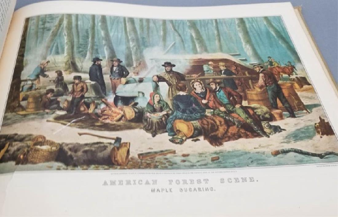 Currier & Ives American Book of Prints Circa 1952 - 5
