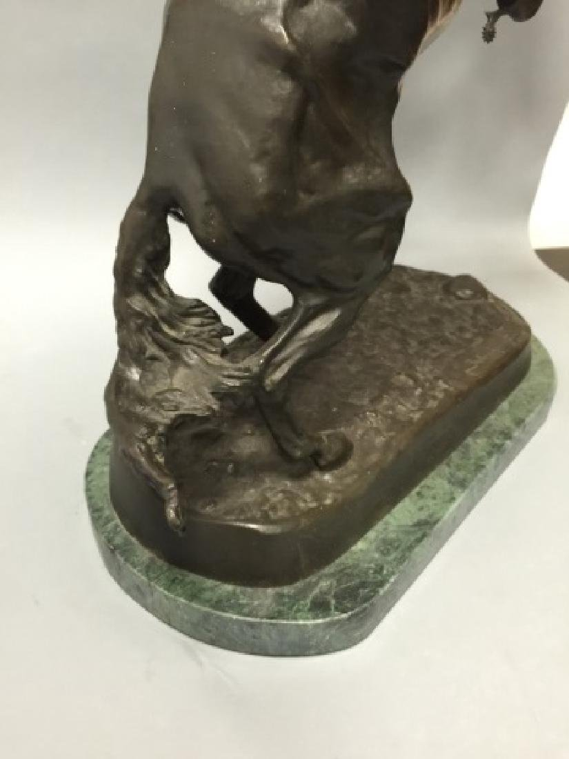 Reissue Frederic Remington Western Bronze Statue - 2