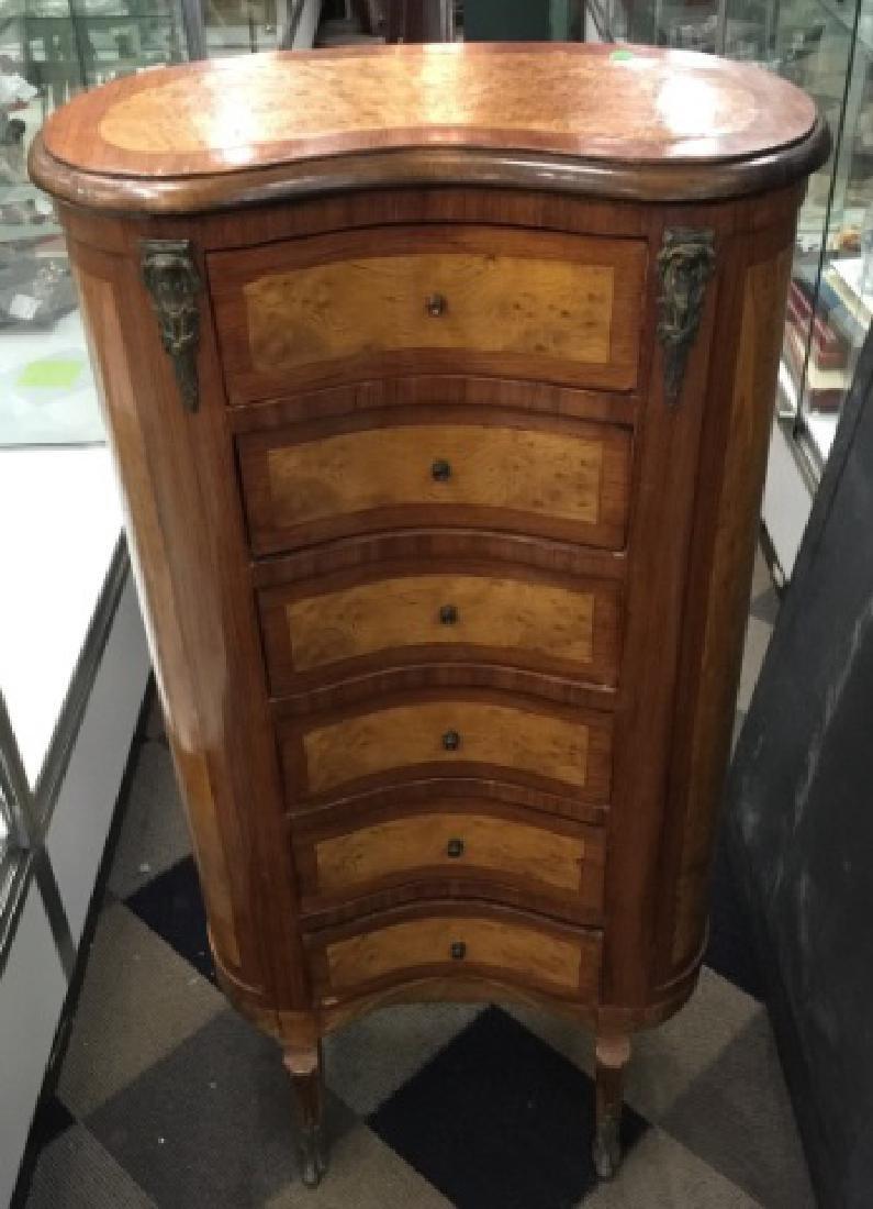 Italian Style 6 Drawer Tall Lingerie Dresser - 2