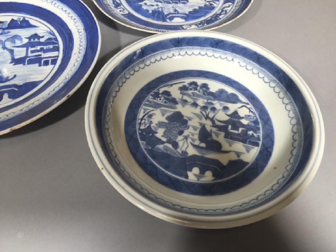 Group of Blue & White Chinese Export Porcelain - 2