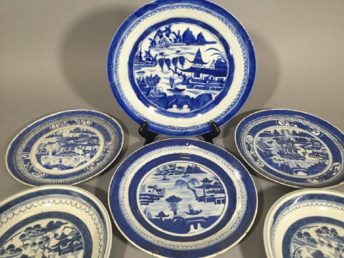 Group of Blue & White Chinese Export Porcelain - 3