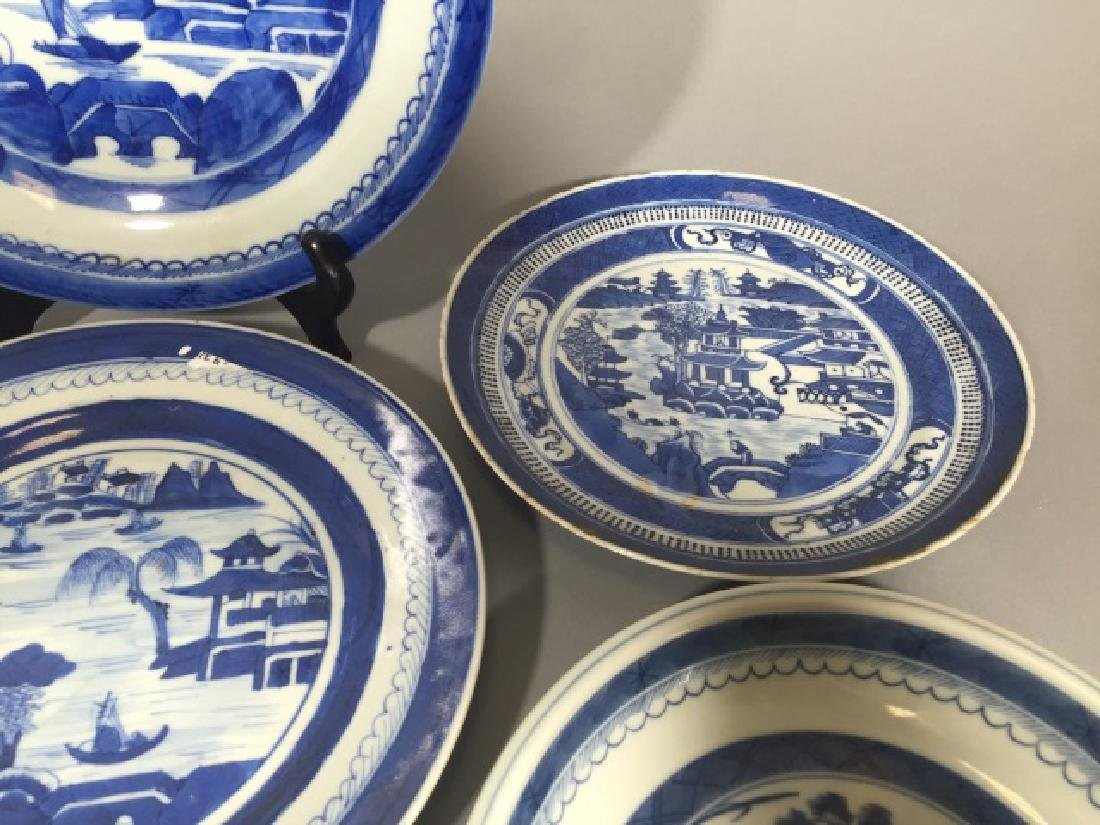 Group of Blue & White Chinese Export Porcelain - 4