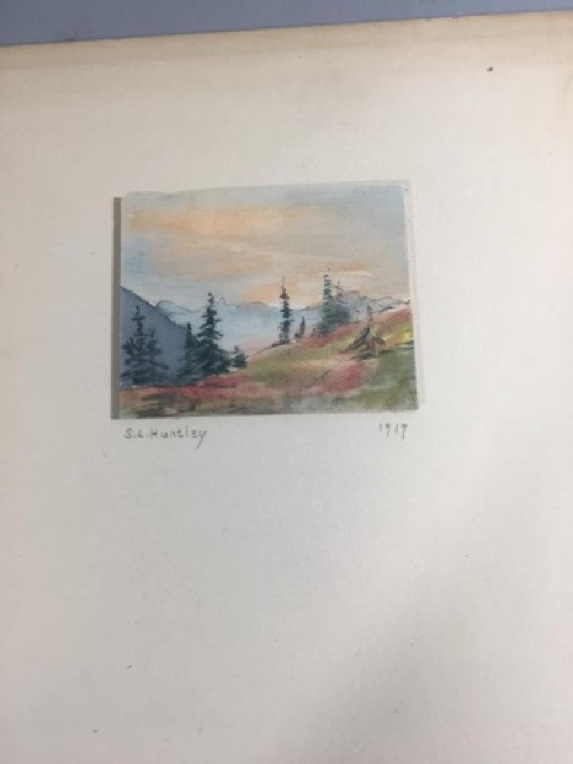 5 Samantha Littlefield Huntley Watercolors 1919 - 2