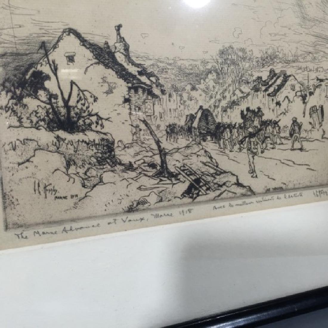 Two Antique Engravings by Cornillier & Hornby - 2