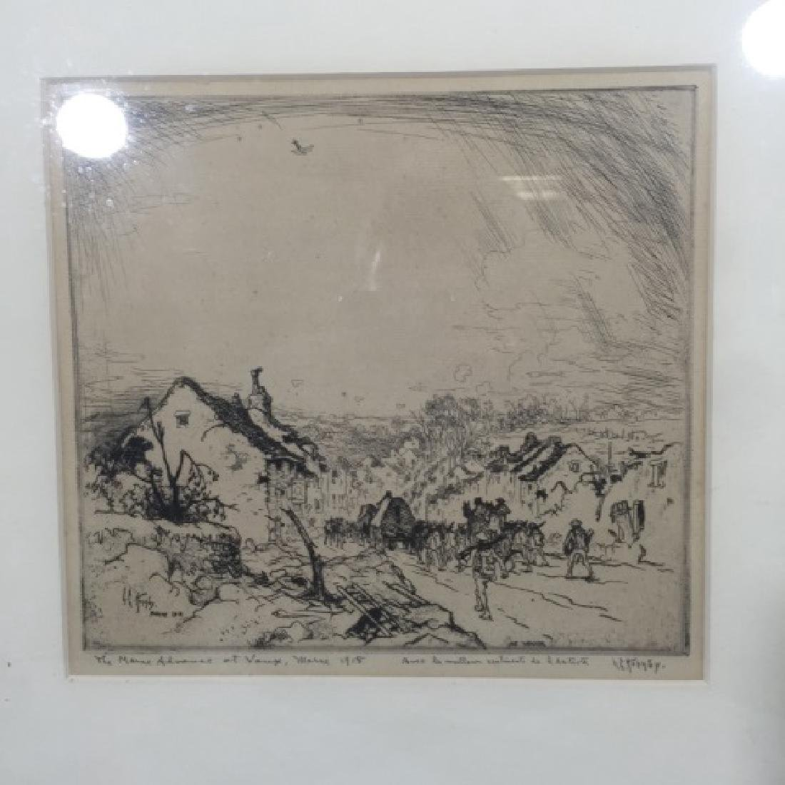 Two Antique Engravings by Cornillier & Hornby - 3
