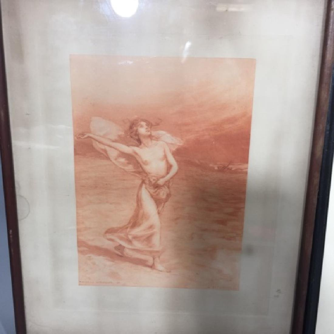 Two Antique Engravings by Cornillier & Hornby - 4