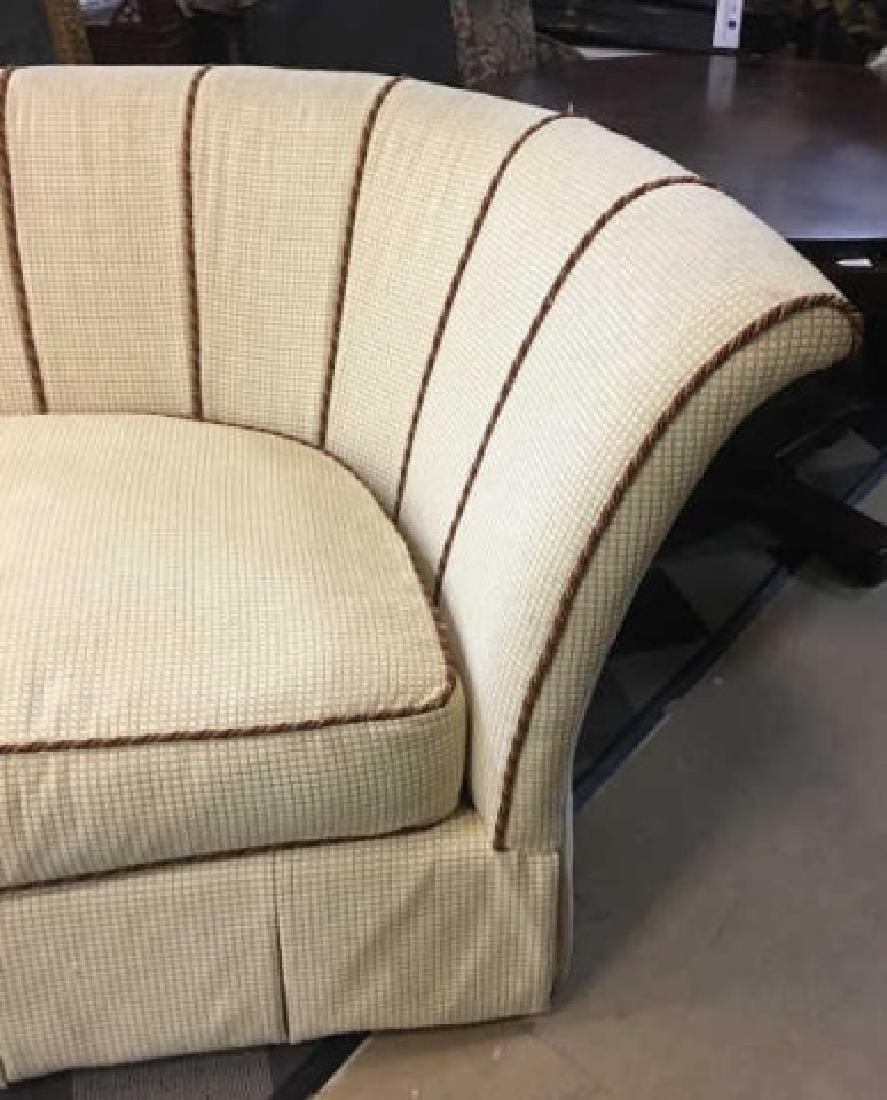 Large Elegant Henredon Demi-Lune Sofa Settee - 2