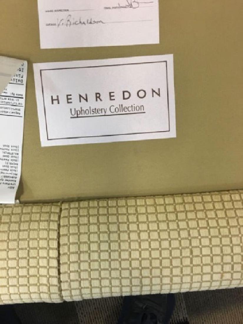 Large Elegant Henredon Demi-Lune Sofa Settee - 4