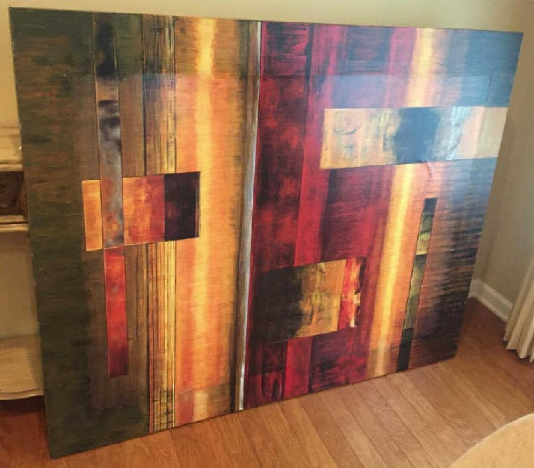 Large Contemporary Decorative Painting by A. Kolb
