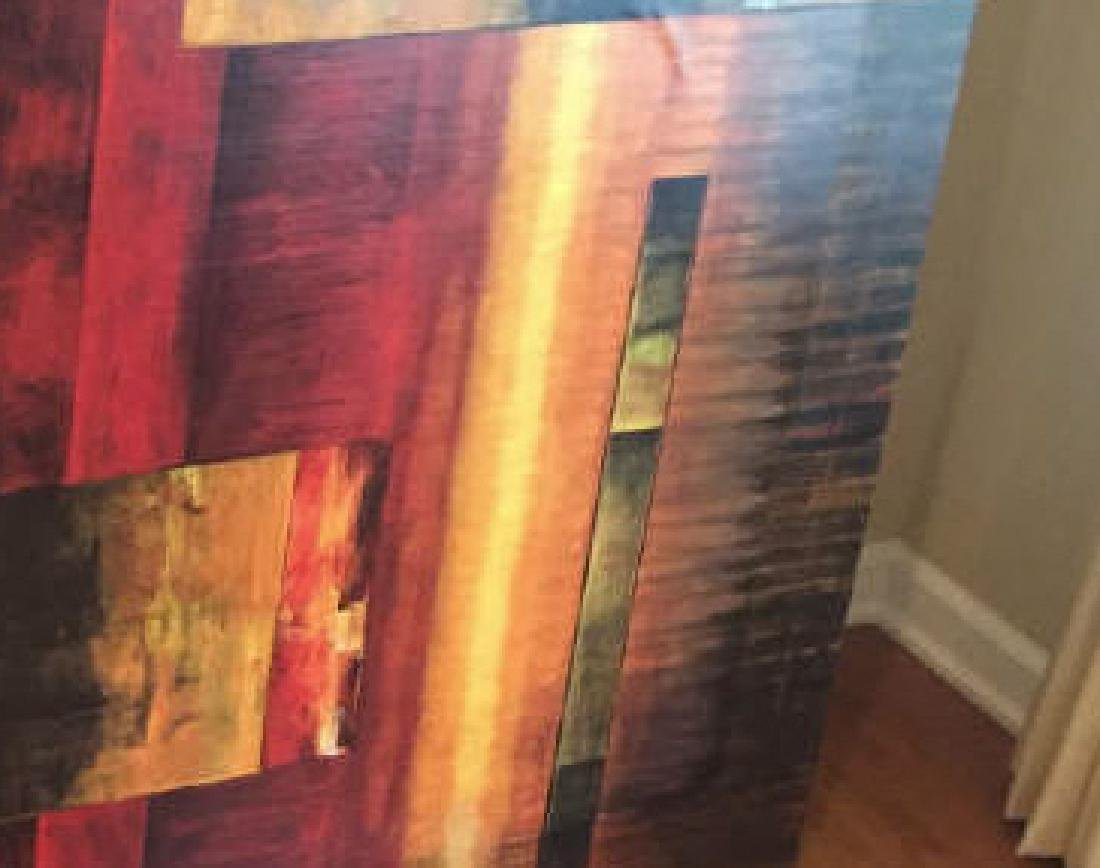 Large Contemporary Decorative Painting by A. Kolb - 3