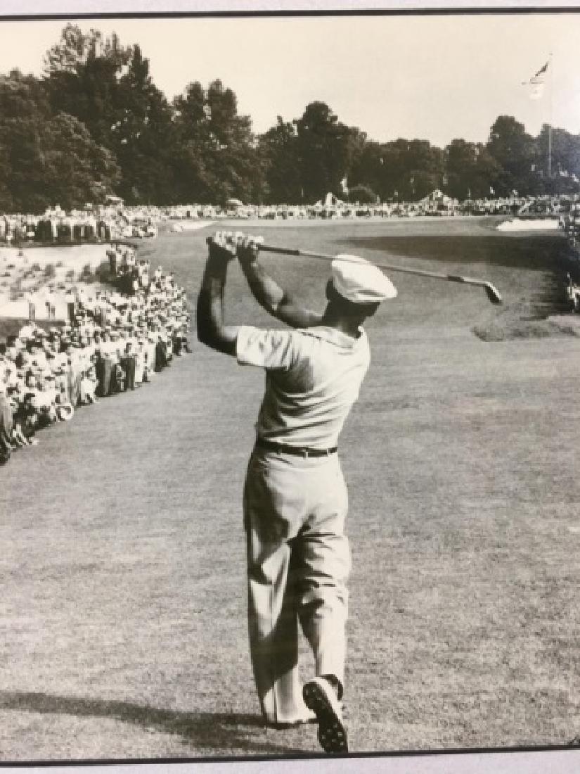 Framed 1950 B/W Photograph of Golfer Ben Hogan - 4