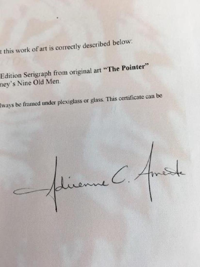 Marc Davis-Signed Disney Serigraph - 5