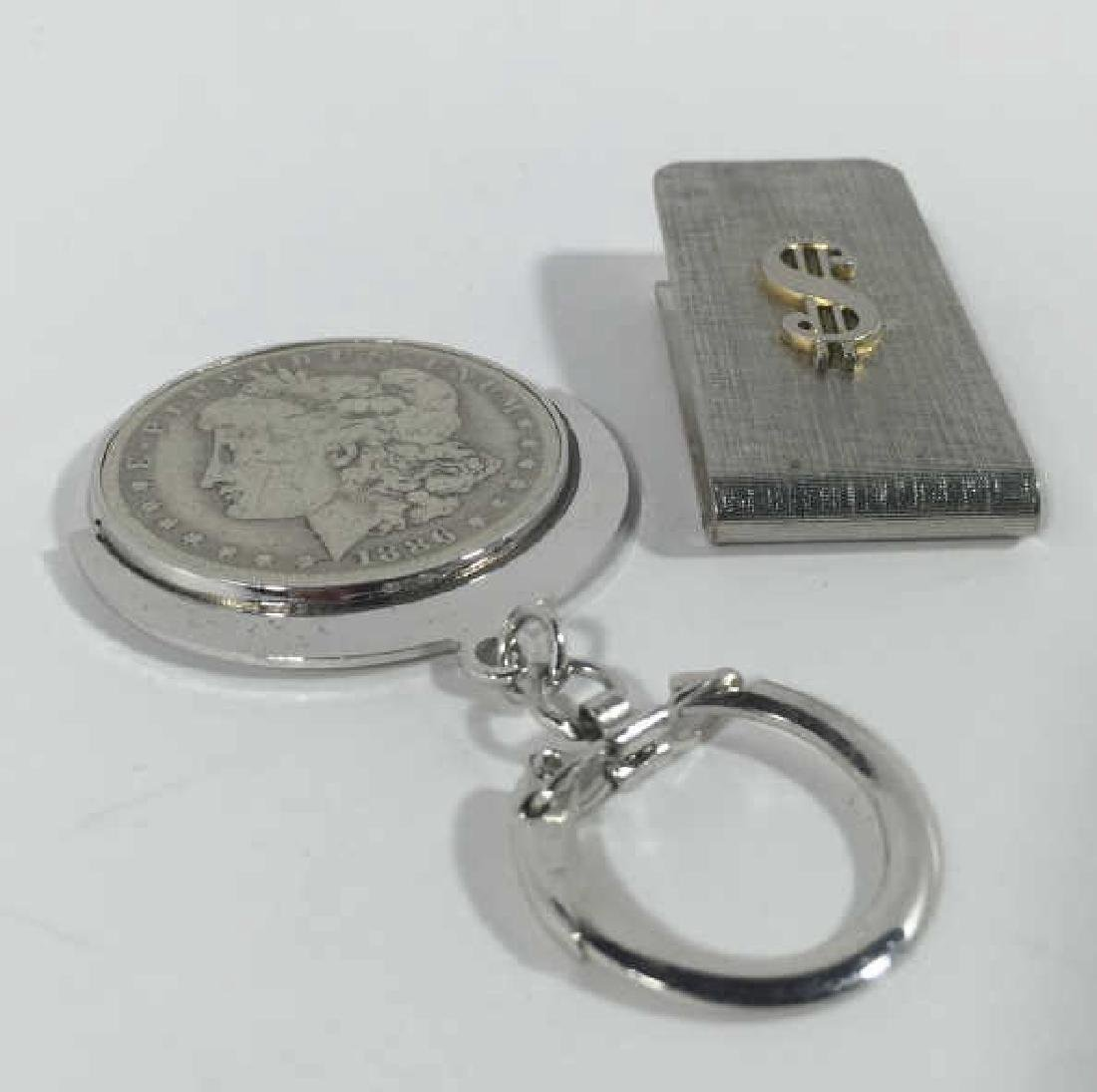 Antique 1886 US Dollar Key Chain & Money Clip