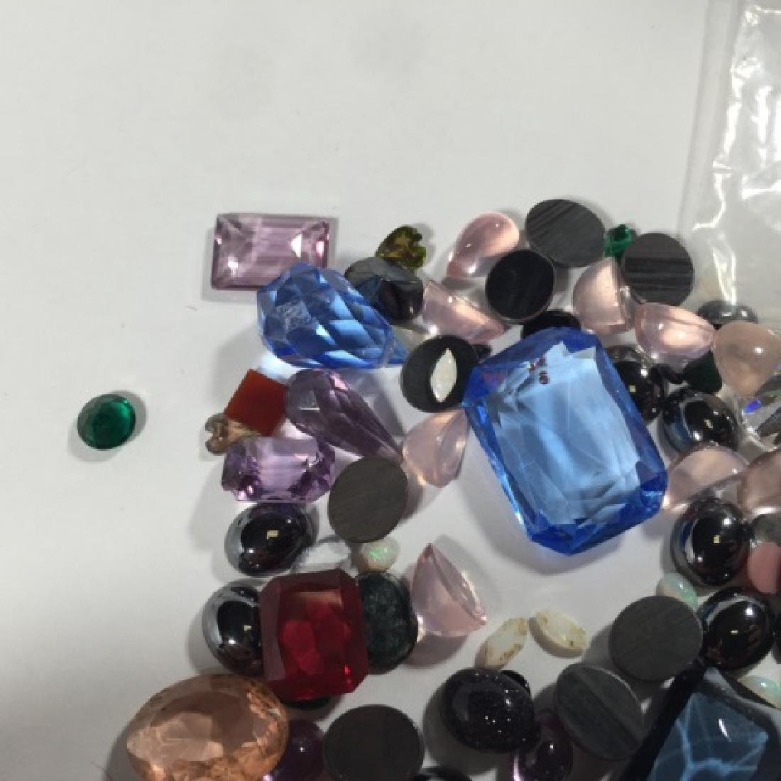 Assorted Loose Stones - Opal, Ruby, Amethyst Etc - 3