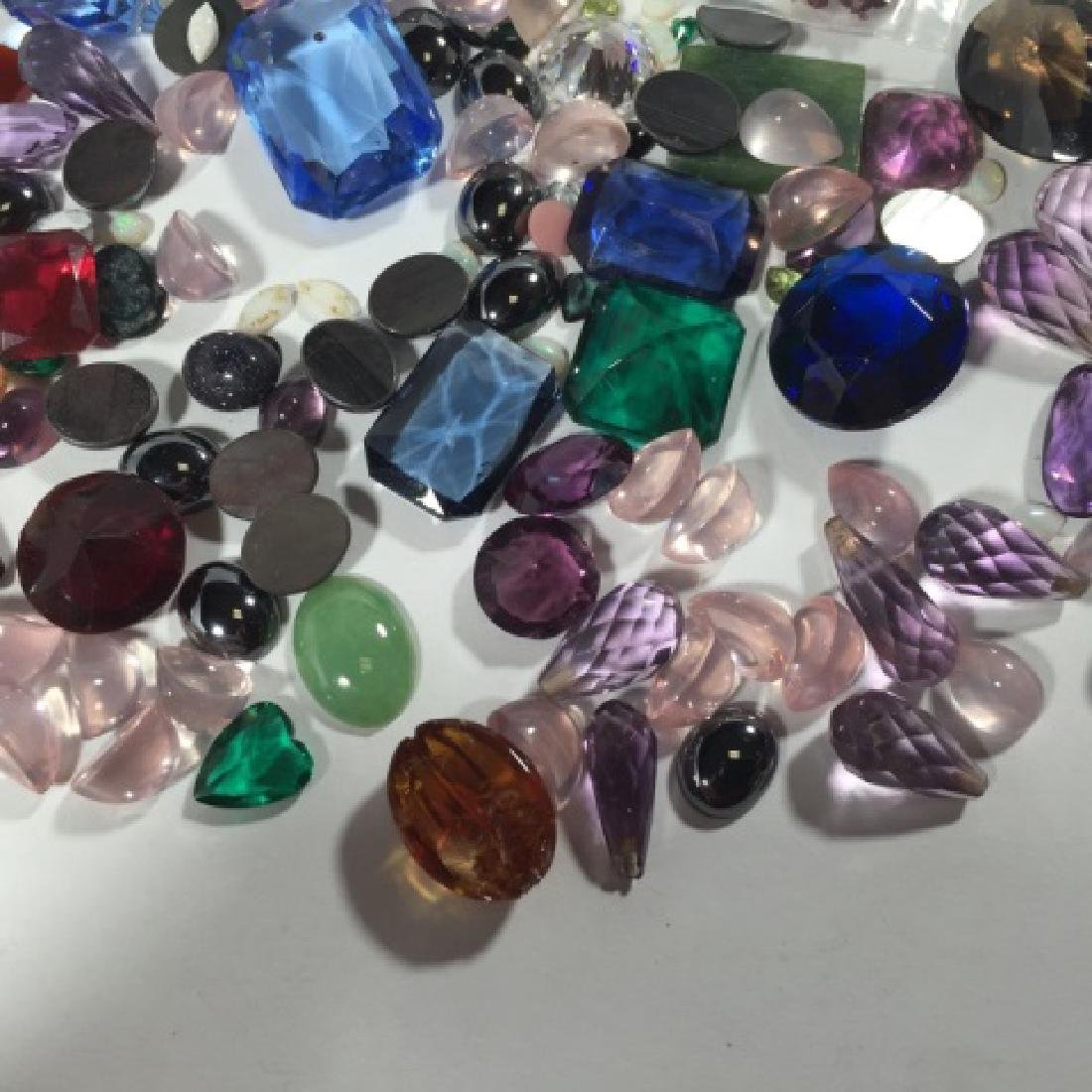 Assorted Loose Stones - Opal, Ruby, Amethyst Etc - 7