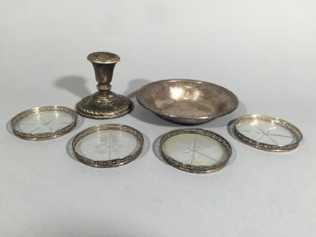 Assorted Sterling Silver Table Articles - 3