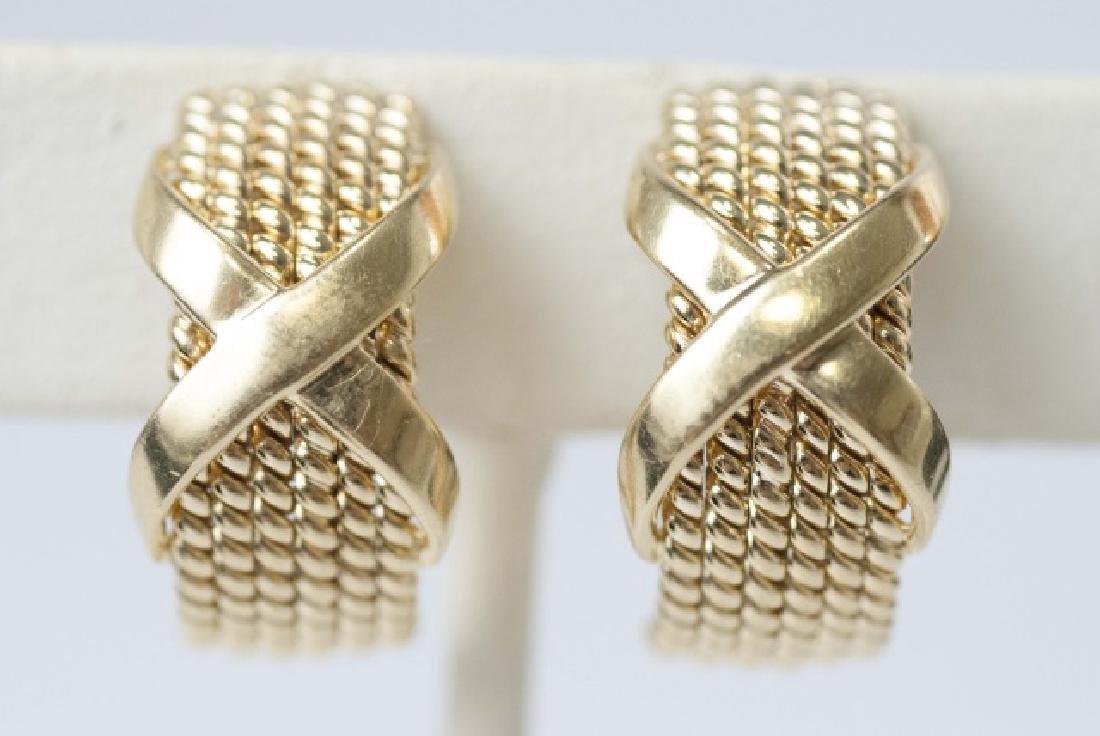 Tiffany & Co Schlumberger 18kt Gold Earrings