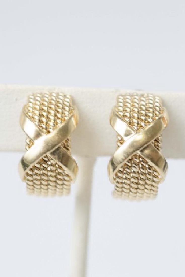 Tiffany & Co Schlumberger 18kt Gold Earrings - 3