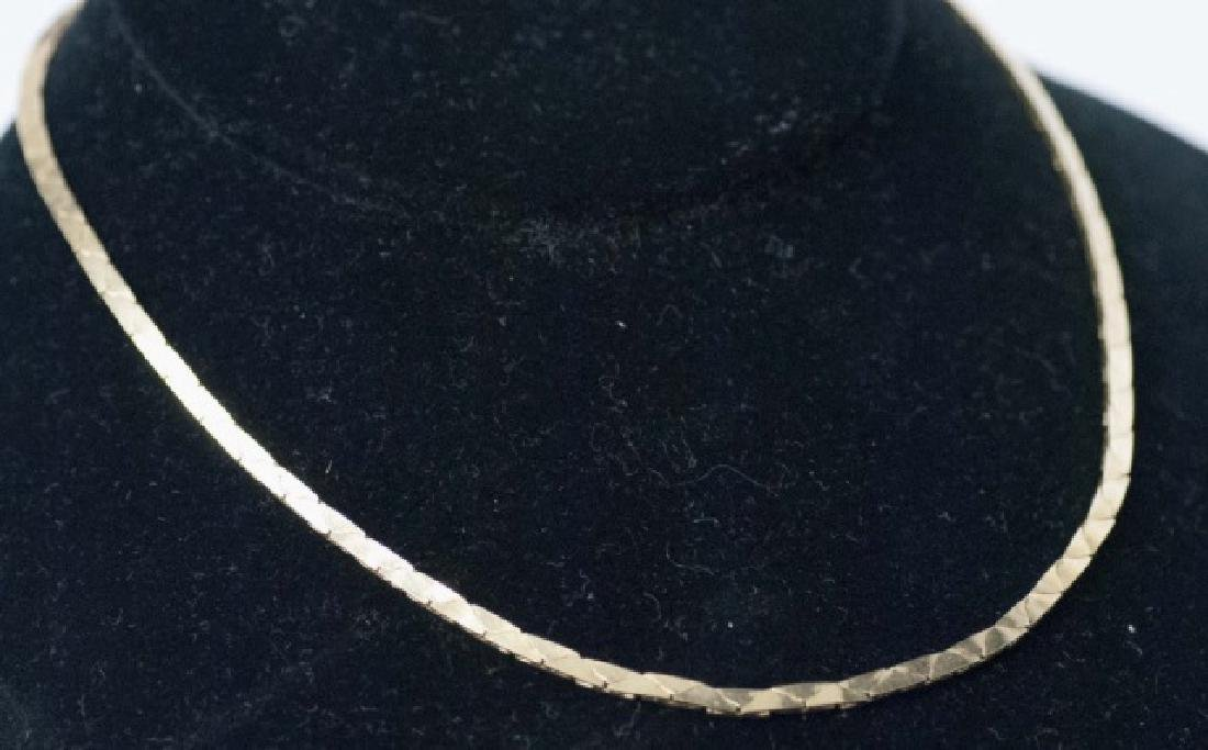 Estate 14kt Yellow Gold Italian Necklace / Chain