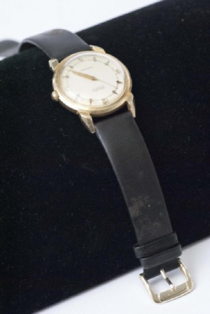 Estate Gruen Autowind 14kt Yellow Gold Watch - 3