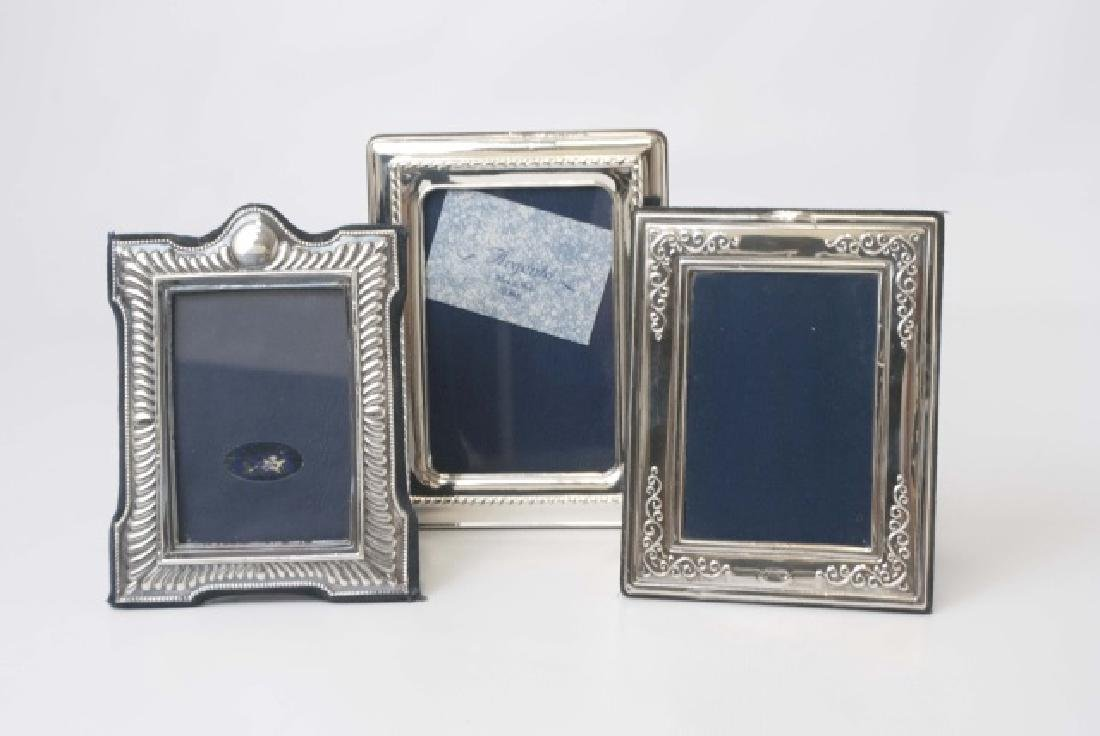 Collection of Sterling Picture Frames