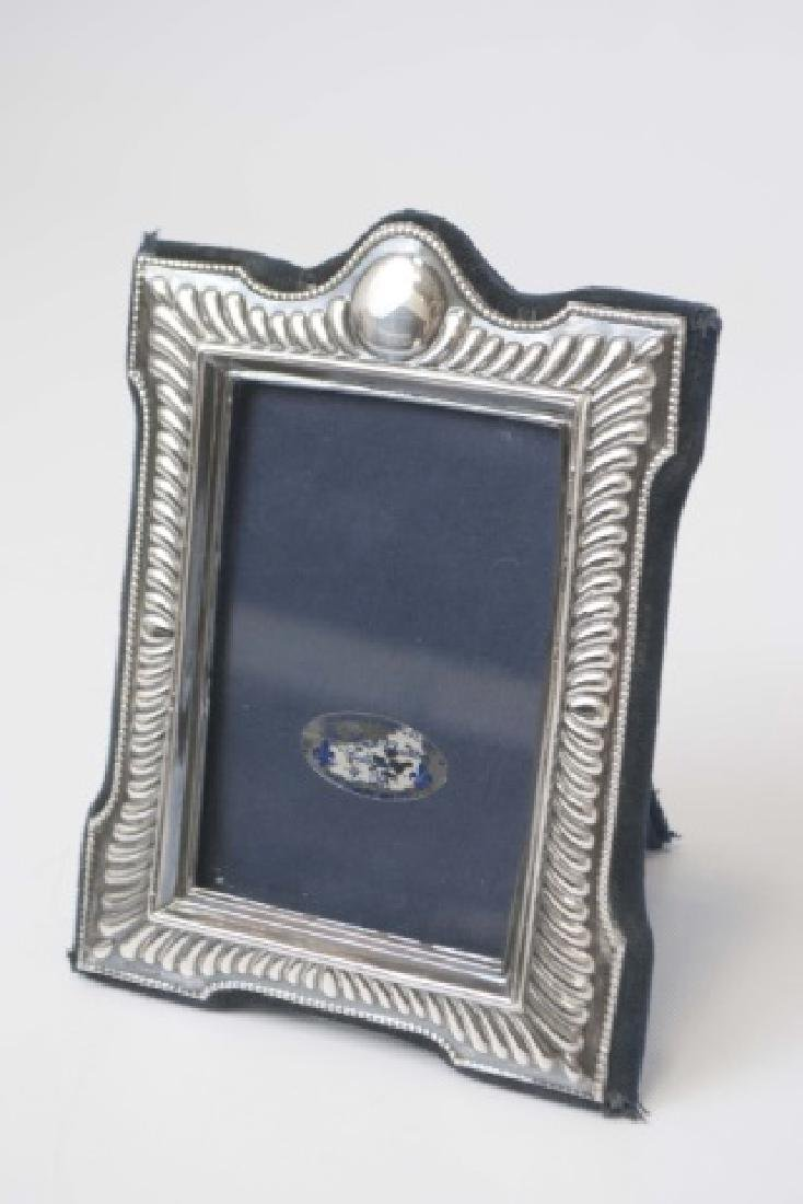 Collection of Sterling Picture Frames - 3