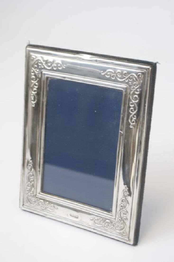 Collection of Sterling Picture Frames - 4