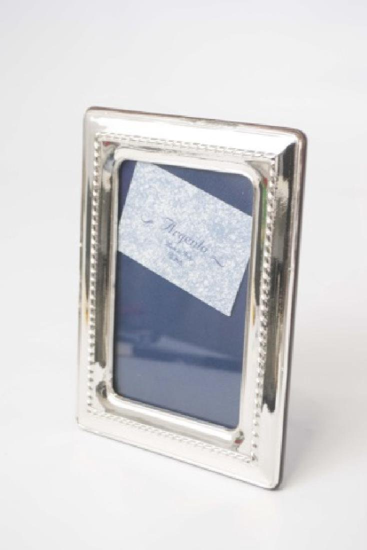 Collection of Sterling Picture Frames - 5