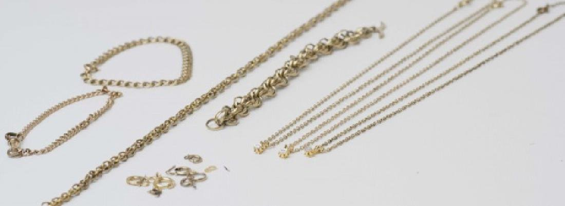 Antique / Estate Gold Filled Necklace Chains