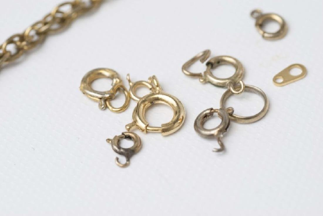 Antique / Estate Gold Filled Necklace Chains - 4
