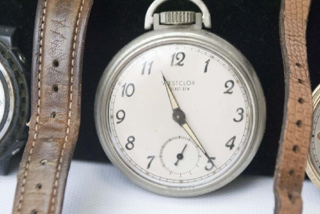 Collection of Vintage Pocket & Wrist Watches - 4