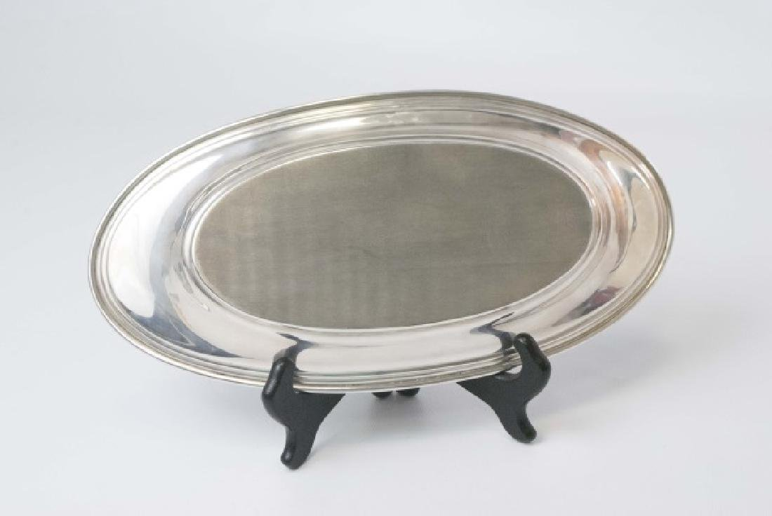 Rogers Sterling Silver Oval Dish - 2
