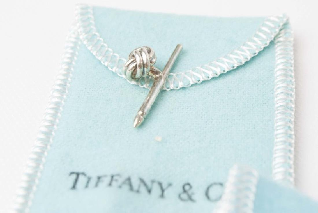 Tiffany & Co Cufflinks & Button Set w Original Box - 2