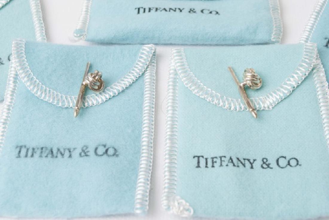 Tiffany & Co Cufflinks & Button Set w Original Box - 4