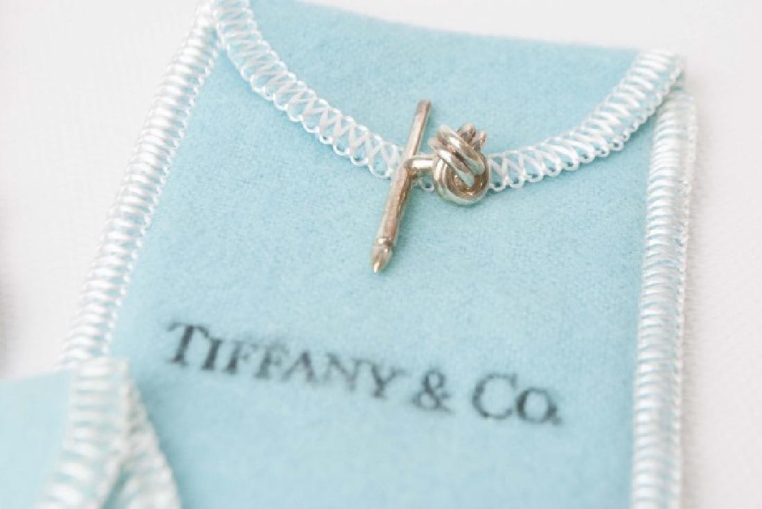 Tiffany & Co Cufflinks & Button Set w Original Box - 5