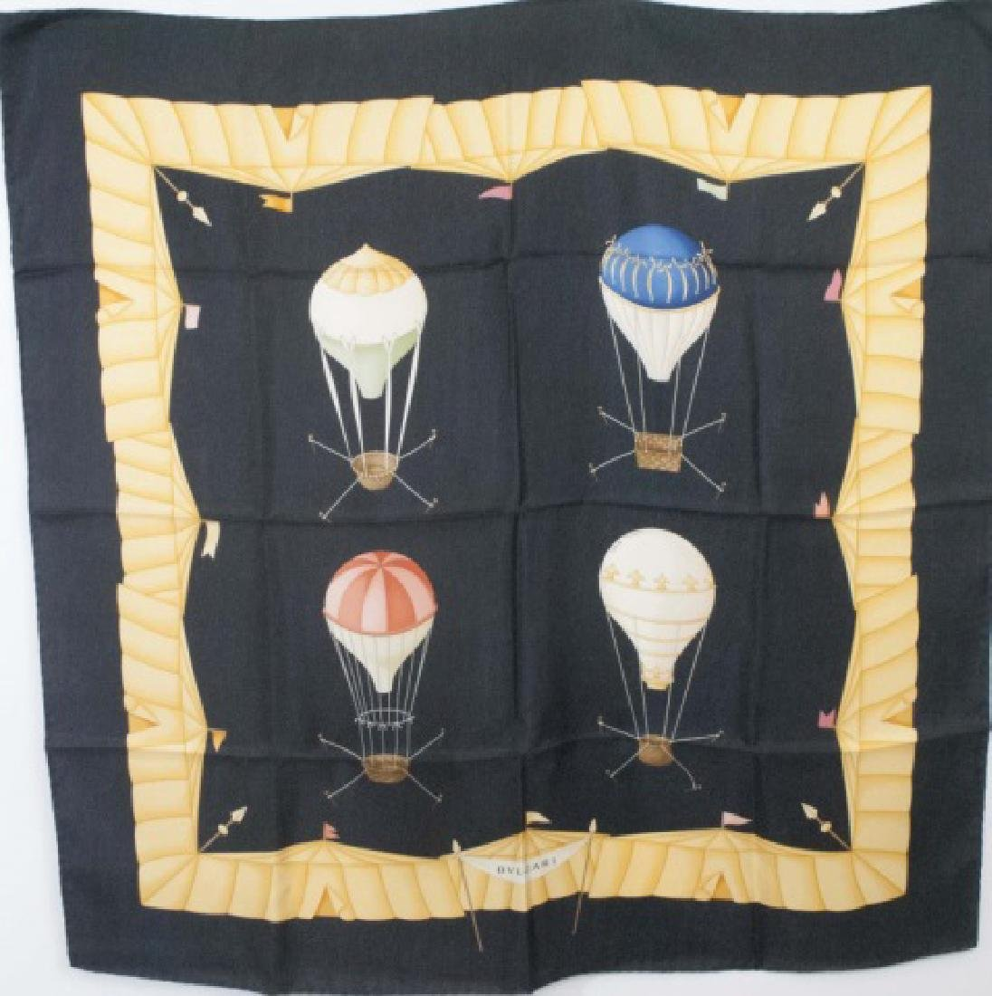 Bulgari Silk Scarf - Design by Davide Pizzigoni